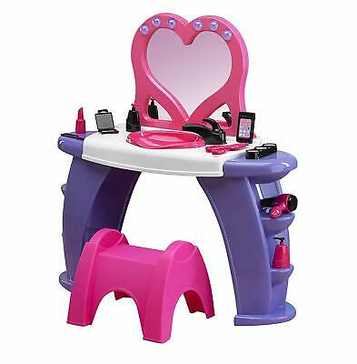 American Plastic Toys Interactive Custom Kitchen Set With 22 Accessories Pink 11950 Kitchen Playsets
