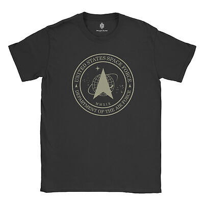 Official United States Space Force Vintage Logo 100% Cotton T-Shirt & Decal