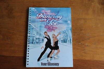 Jayne Torvill Christopher Dean  / TOUR ITINERARY / Dancing on Ice 2012