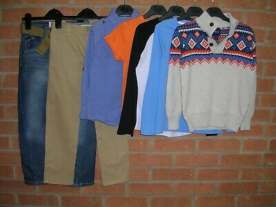 MANTARAY GAP CONRAN H&M etc Boys Bundle Jeans Jumpers Tops T-Shirts Age 6-7 122