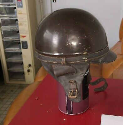 casque bol GENO moto de collection   peugeot terrot monet goyon  1930 1940