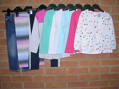 100% GAP Girls Bundle T-Shirts Tops Leggings Joggers Jeans Age 2-3 98cm