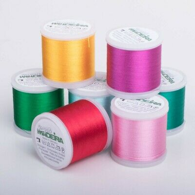 MADEIRA Rayon No.40 Machine Embroidery Thread - 200m Spool - Multiple Colours