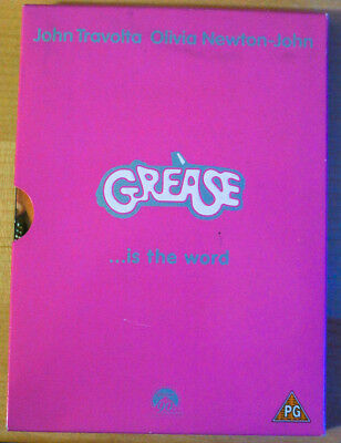 Grease - (DVD, 2002) Ltd Edition- John Travolta