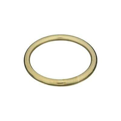 "BAg of 10 Pieces Stanley National Hardware 3156BC 1-1//2/"" Ring in Solid Brass"