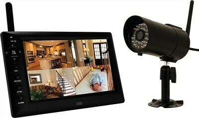 First Alert Wireless 8Gb Security System Camera With Monitor
