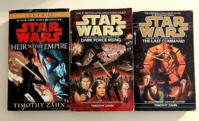 Star Wars The Thrawn Trilogy by Timothy Zahn / Heir to the Empire, Dark Force