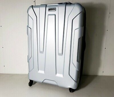 "Samsonite Centric Hardside 28"" Expandable Checked Luggage Spinner Wheels Silver"