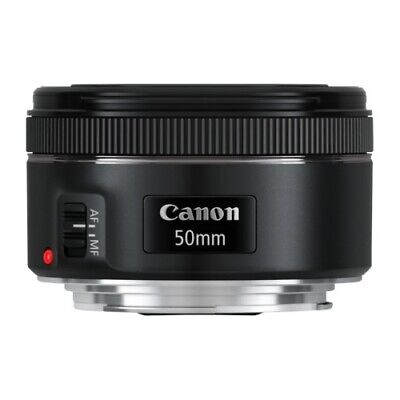Canon Ef 50 mm for /1.8 Stm Lens Bright New by the Dealer