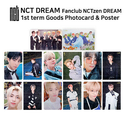 NCT DREAM  - 1st Fan Club Welcome Kit - Official Photocard & Mini Poster Set
