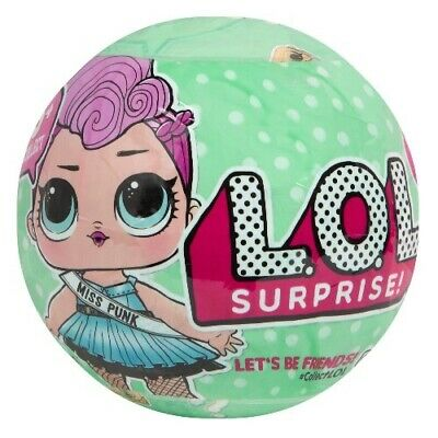 Genuin  Lol Doll Ball Surprise! Series 2 Wave 2 Big Sister Lets Be Friends