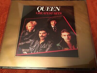 Queen : Greatest Hits I & II: Best of Volmes one and Two 2CD Fatbox RARE