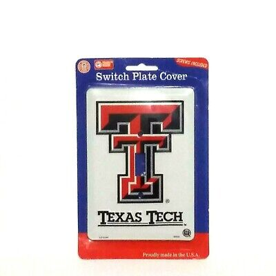 Switch Plate Covers Texas Tech Football Teams Collegiate Products Outlet Decor