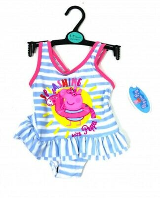 New Peppa Pig girls swimming costume, 12-18 months