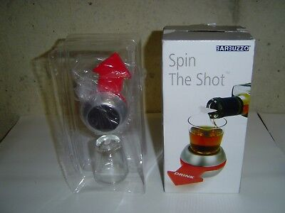Barbuzzo Spin the Shot Drinking Game Brand New