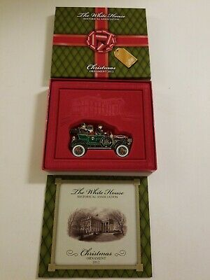The White House Historical Association 2012 Christmas Tree Ornament - Taft