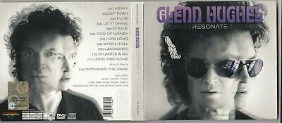 Glenn Hughes - Resonate  (Bass) (CD, Nov-2016, 2 Discs, Frontiers Records)