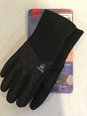 HEAD Women's Hybrid Glove Black Size Medium Sensatec NOB