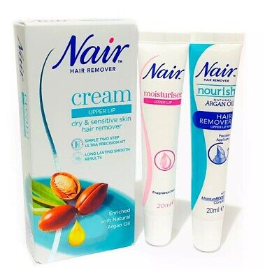 Nair Gentle & Effective Upper Lip Face Facial Hair Remover Removal Kit