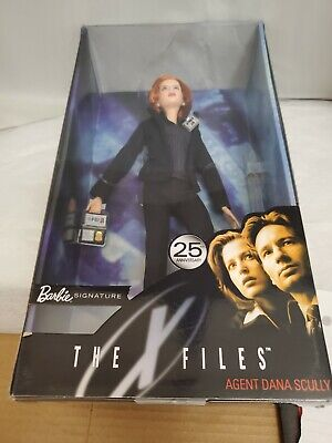 TOP ~BARBIE DOLL X-FILES 25TH ANNIVERSARY DANA SCULLY PINSTRIPE BLOUSE ACCESSORY