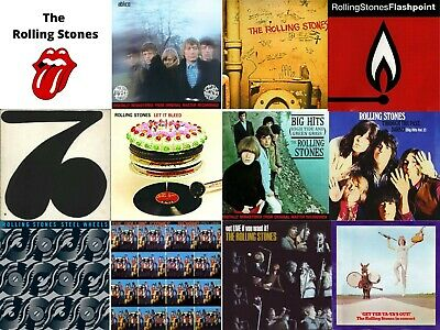 "Rolling Stones ""You Pick"" Cd Sale - $3.50 Or Less Each - See List"
