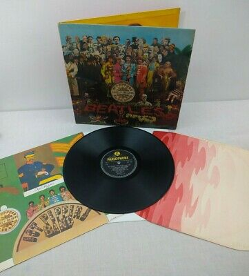 The Beatles - Sgt Peppers Lonely Hearts Club Band MONO 1st Press COMPLETE VG+/VG