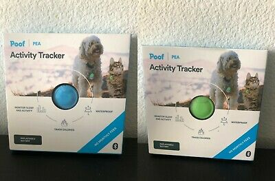 Poof Pet Calorie Counter, Activity and Sleep Tracker, Water Resistant