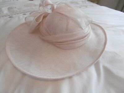 PHASE EIGHT  OYSTER Fascinator /Wedding Hat Accessories