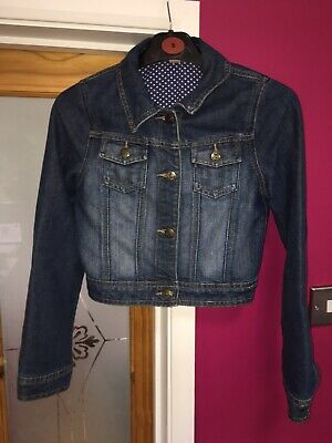 girls denim jacket age 12