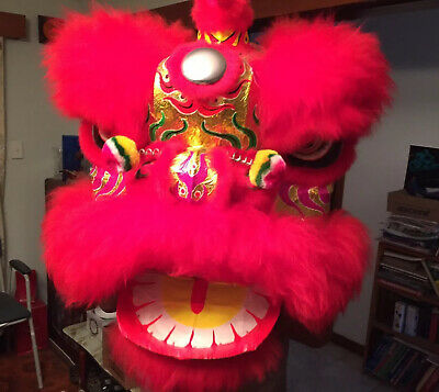Chinese Lion Dance Costume For Adult