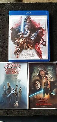 Star wars last jedi (Recalibrated) blu ray