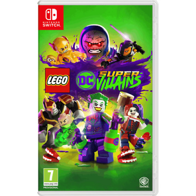 LEGO DC SUPER-VILLAINS - Nintendo Switch - UK PAL Game - NEW & SEALED!!