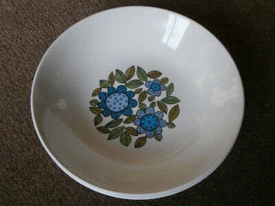 "J&G Meakin Topic Ironstone vintage  7 1/2"" Cereal Bowl set of 2"
