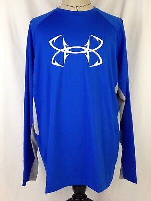 Under Armour CoolSwitch Thermocline Mens Shirt L Size Loose Fish 1271474 907