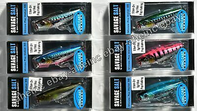 Savage Gear 3D Minnow Pop Walker 6.6cm 8g Floating Surface Lure NEW COLOURS