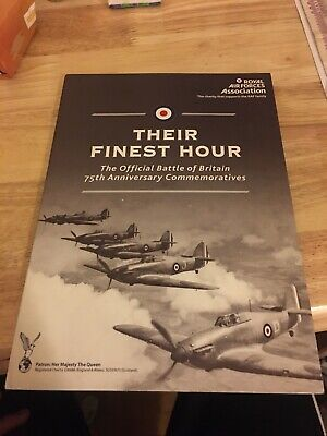 Their Finest Hour Battle Of Britain 75th Coin Folder COA RAF MINT LTD