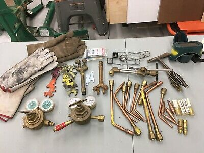 Welding Stuff - Gauges, tips, gloves and other