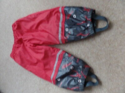 Boys Lupilu Age 12-24 months Waterproof Trousers Rain Trousers in good condition