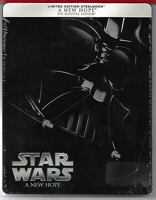 STAR WARS A NEW HOPE / Blu-Ray Steelbook Neuf sous blister - VF