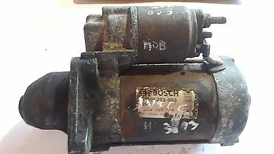 Iveco Daily 2.8 Hpi Starter Motor Bosch 0001223003 500307724