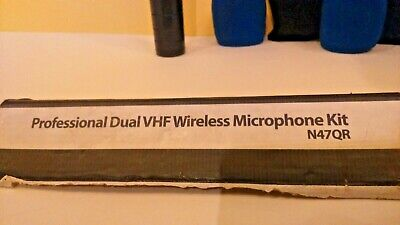 Pro-sound Professional Dual VHF Wireless Microphone N47QR