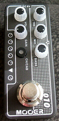 Mooer Two Stones 010 Micro PreAmp Pedal
