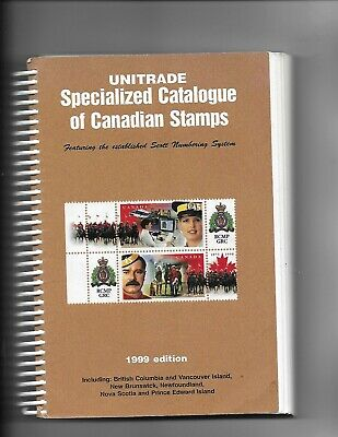 Unitrade Specialized Catalogue of Canadian Stamps, 1999 used