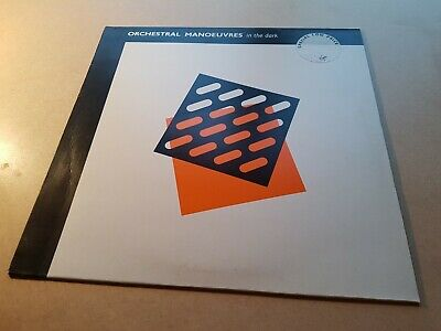 ORCHESTRAL MANOEUVRES IN THE DARK s/t REISSUE LP 1984 SYNTH 80's VINYL EX+ NM