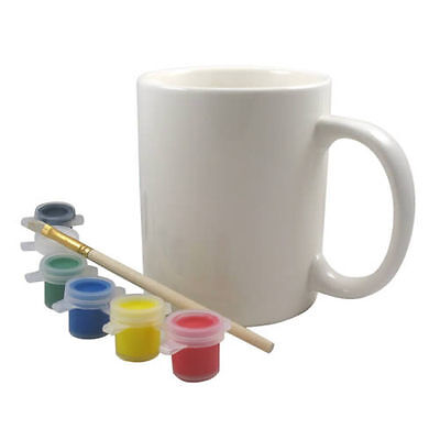 Ceramic Paint Mug Paints Set Kids Creative Painter Christmas Gift Vintage Child