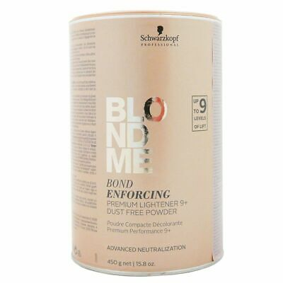 Schwarzkopf BLONDME Bond Enforcing Premium Aufheller 9+ 450 g Blondierpulver