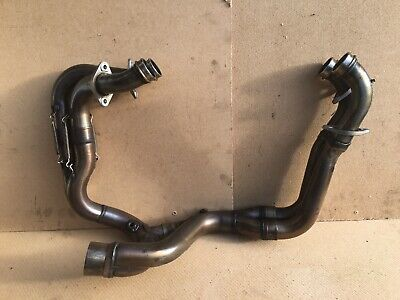 Aprilia RSV4 RF Tuono Exhaust Down Pipes Exhaust Headers Downpipes 2018