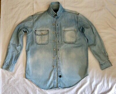 Ralph Lauren Denim Shirt Polo Country Authentic Dry Goods / Mens Large
