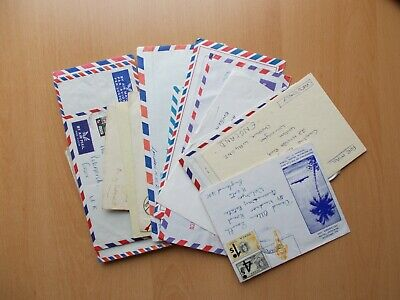 British Commonwealth - 43 x commercial covers / postal history. See pics below.
