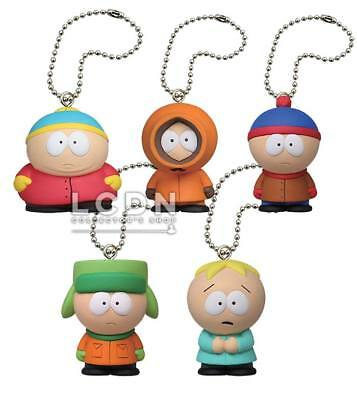 SOUTH PARK serie di 5 CINQUE personaggi in PVC ERIC KENNY KYLE STANLEY BUTTERS